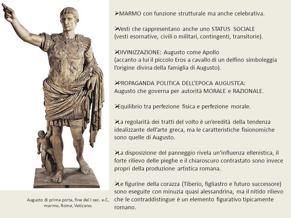Augusto di prima porta, fine del I sec. a.C,