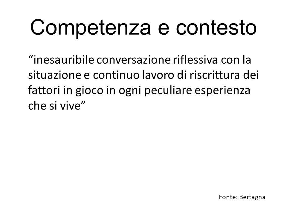 Competenza e contesto