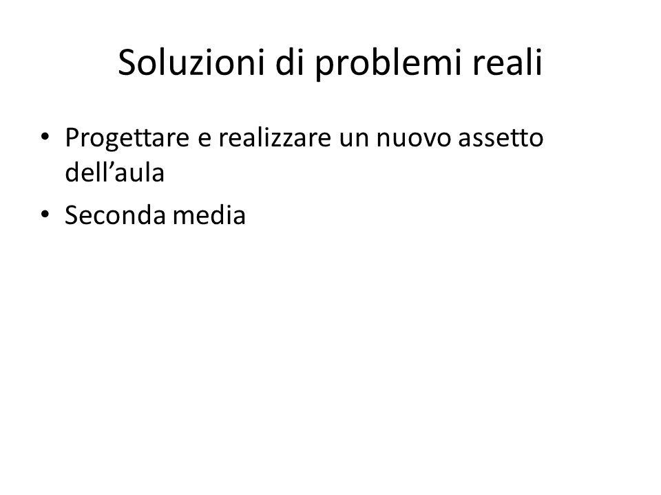 Soluzioni di problemi reali
