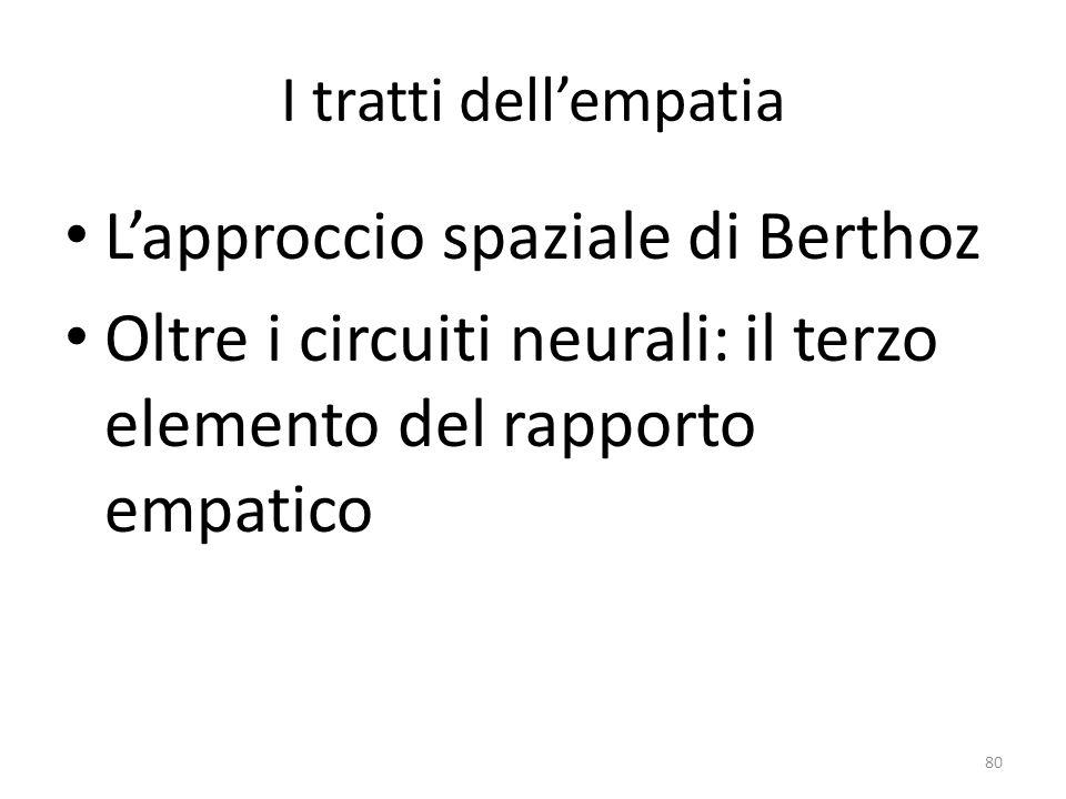 L'approccio spaziale di Berthoz