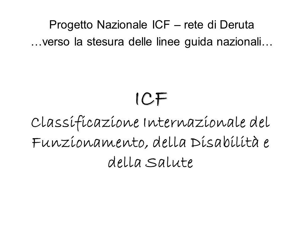 Progetto Nazionale ICF – rete di Deruta