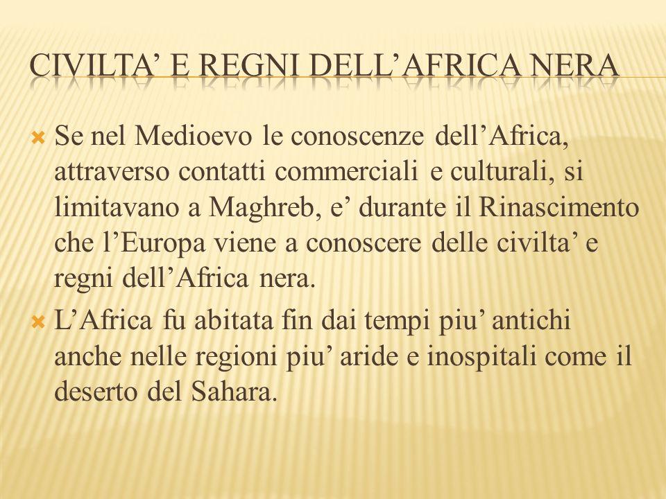 Civilta' e regni dell'Africa nera