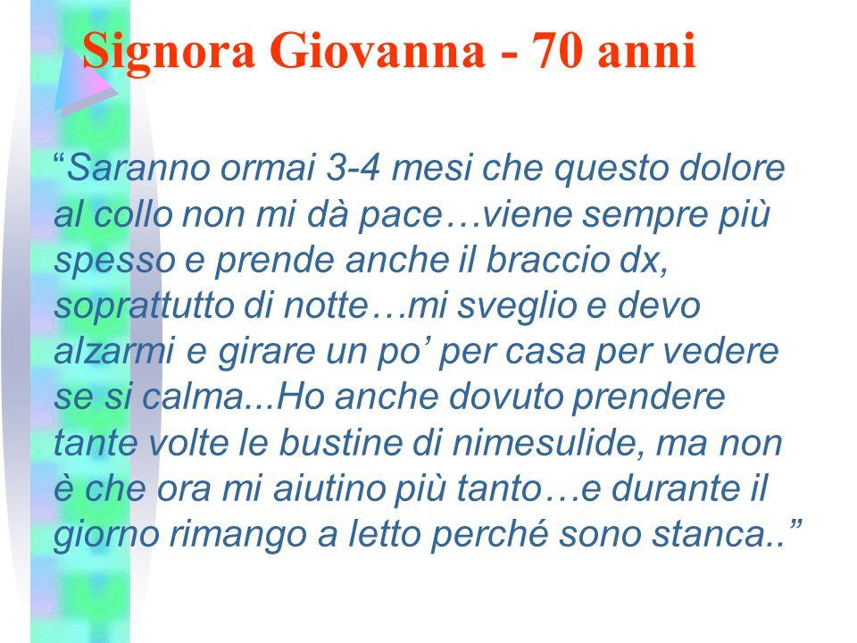 Signora Giovanna - 70 anni