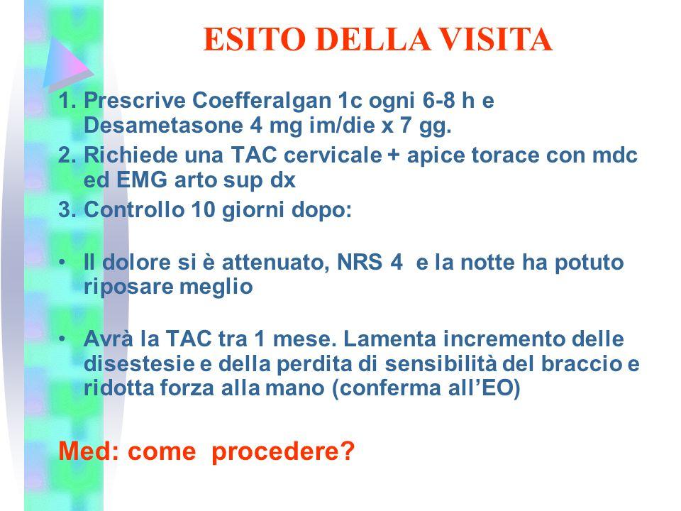 ESITO DELLA VISITA Med: come procedere