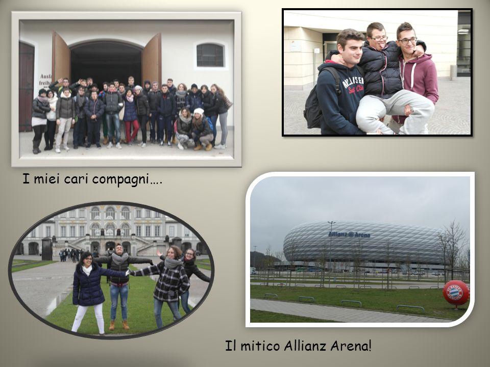 I miei cari compagni…. Il mitico Allianz Arena!