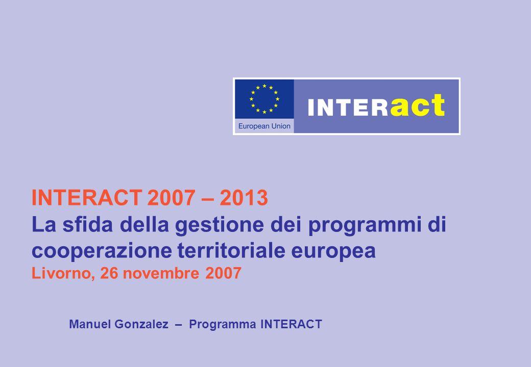 Manuel Gonzalez – Programma INTERACT