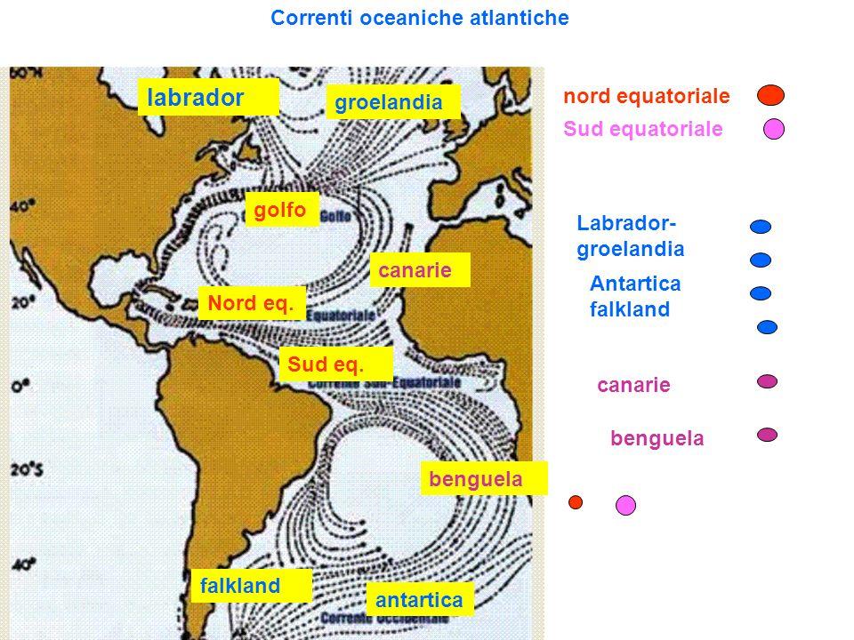 Correnti oceaniche atlantiche