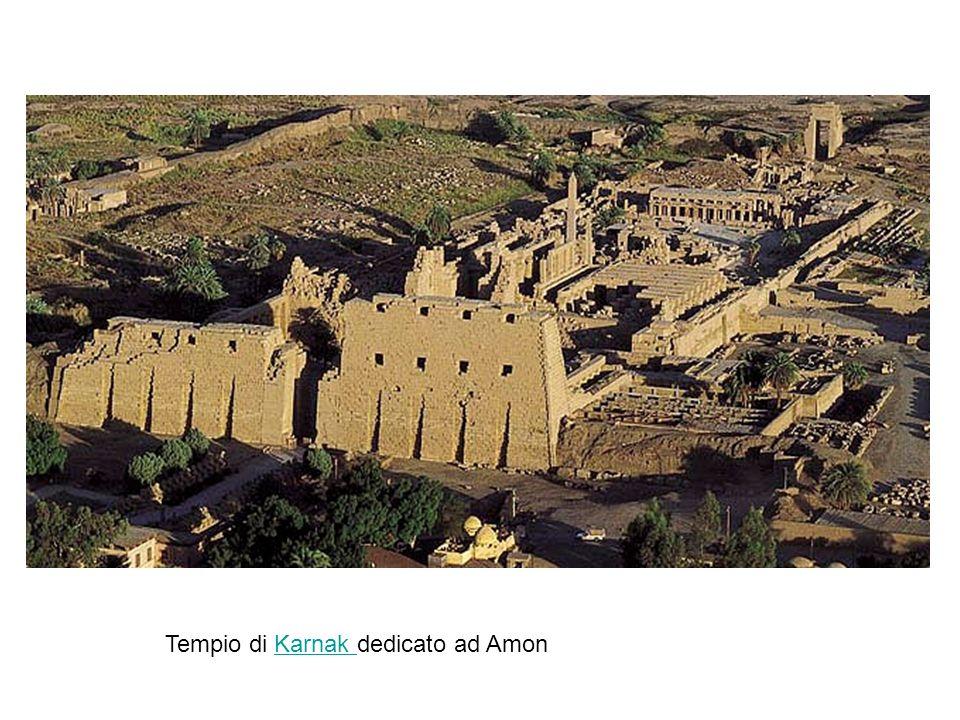Tempio di Karnak dedicato ad Amon