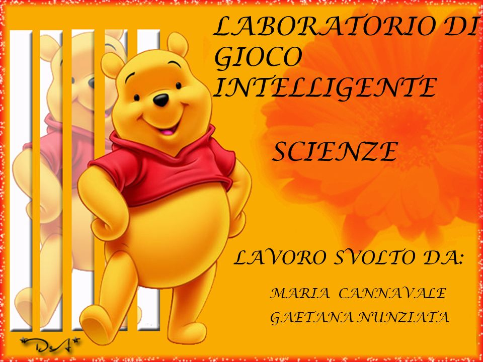 LABORATORIO DI GIOCO INTELLIGENTE