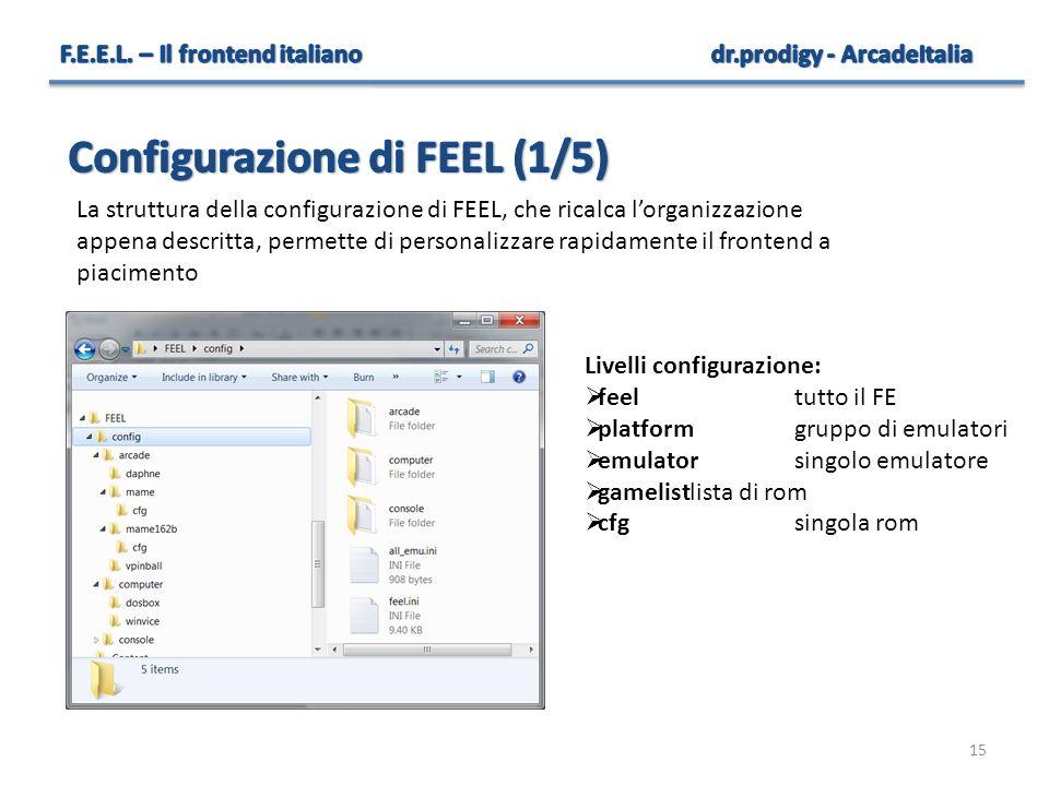 Configurazione di FEEL (1/5)