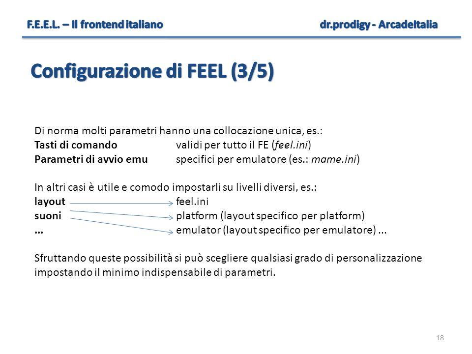 Configurazione di FEEL (3/5)