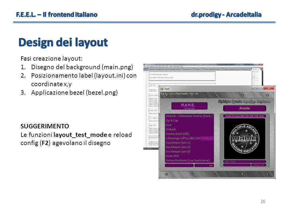 Design dei layout F.E.E.L. – Il frontend italiano