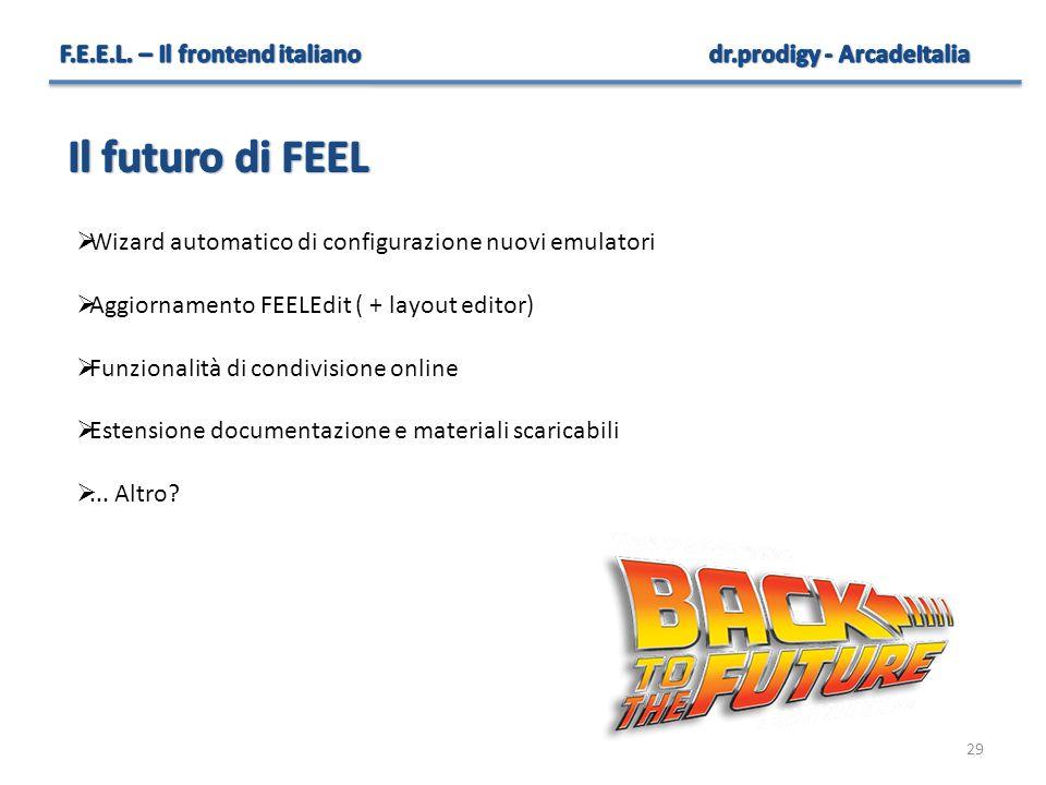 Il futuro di FEEL F.E.E.L. – Il frontend italiano