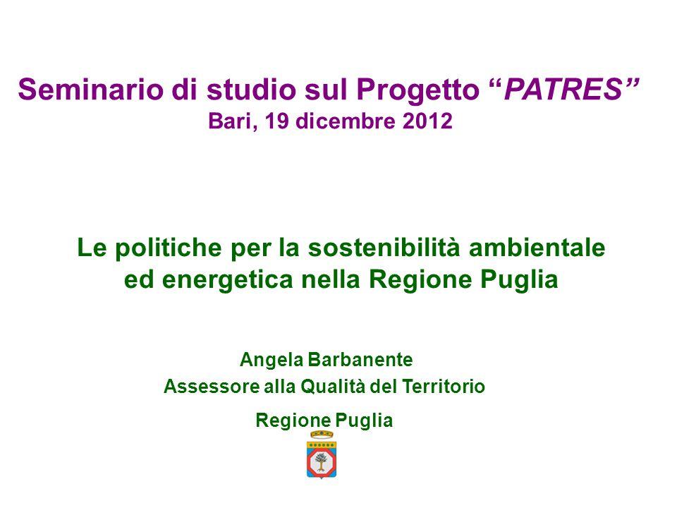 Seminario di studio sul Progetto PATRES