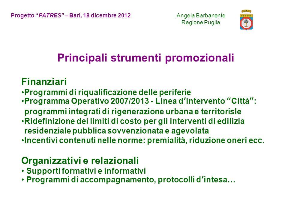 Principali strumenti promozionali