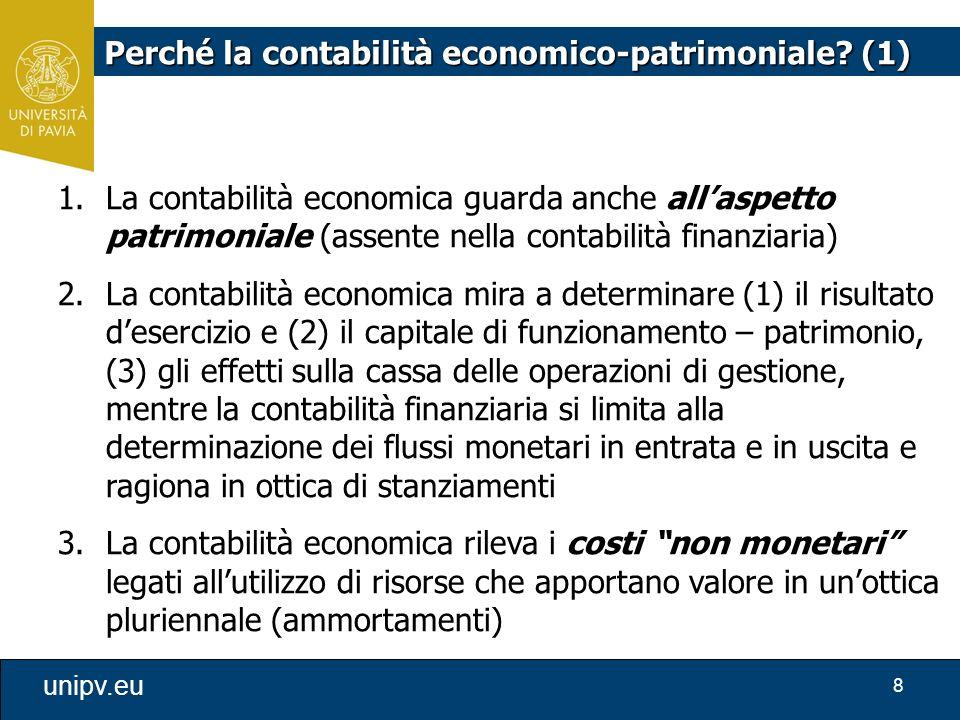 Perché la contabilità economico-patrimoniale (1)
