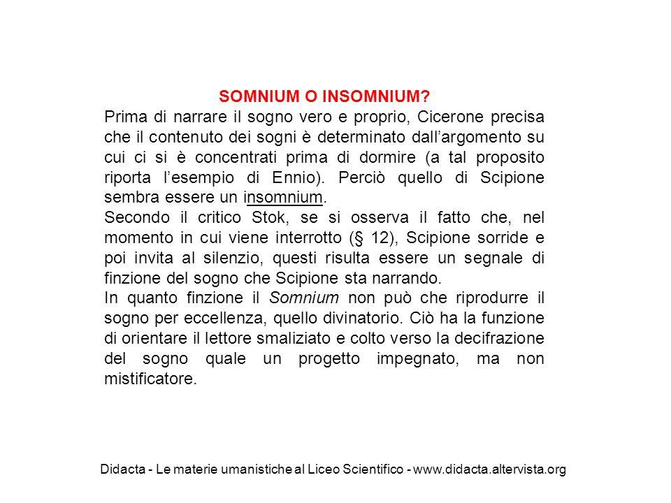 SOMNIUM O INSOMNIUM