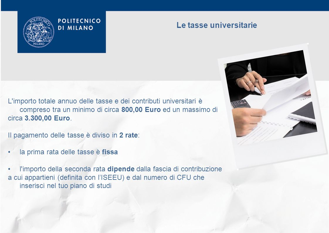 Le tasse universitarie