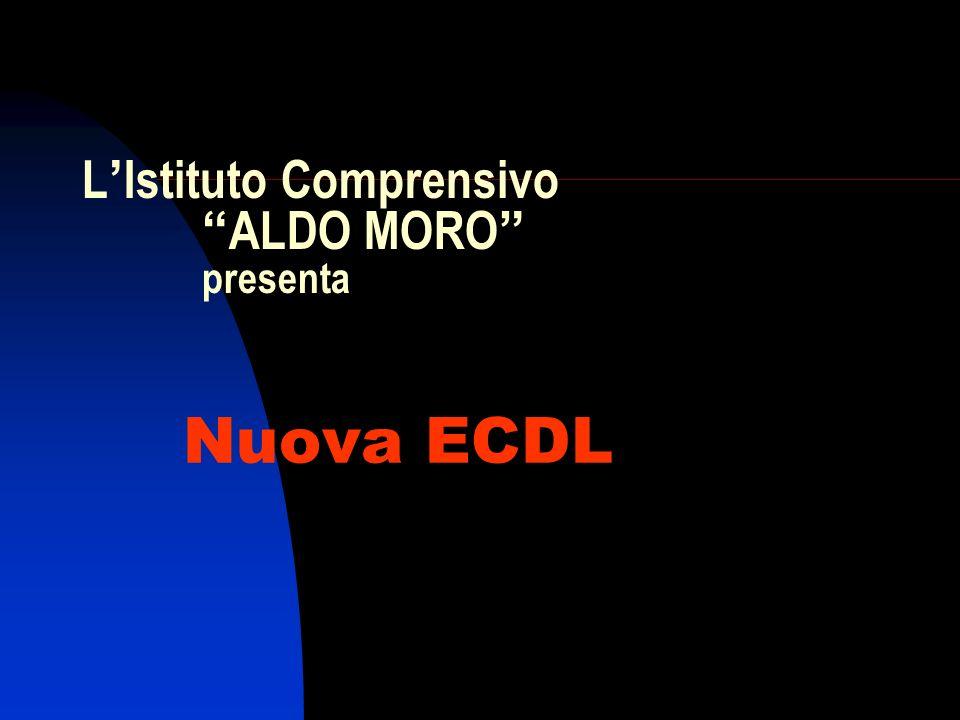 L'Istituto Comprensivo ALDO MORO presenta