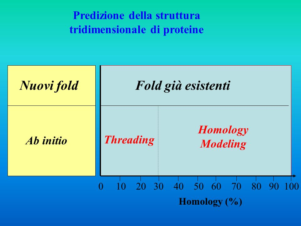 Predizione della struttura tridimensionale di proteine