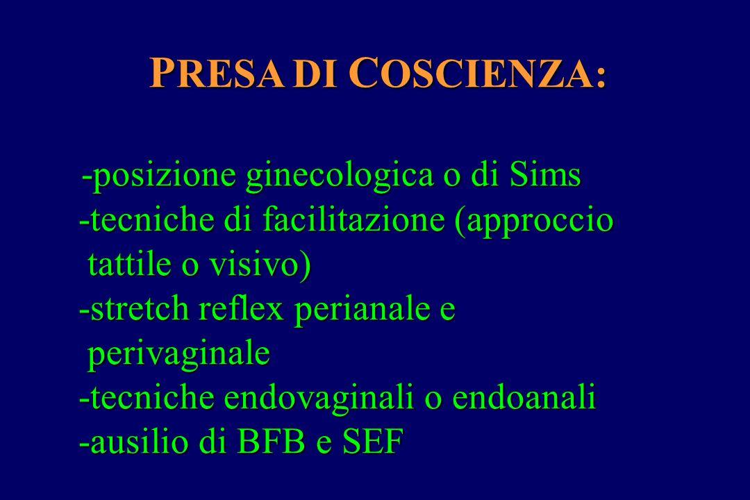 PRESA DI COSCIENZA: -posizione ginecologica o di Sims