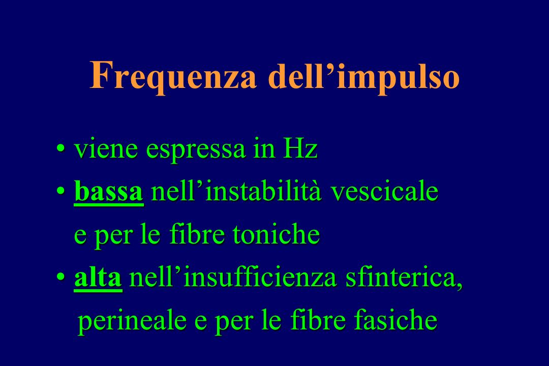 Frequenza dell'impulso
