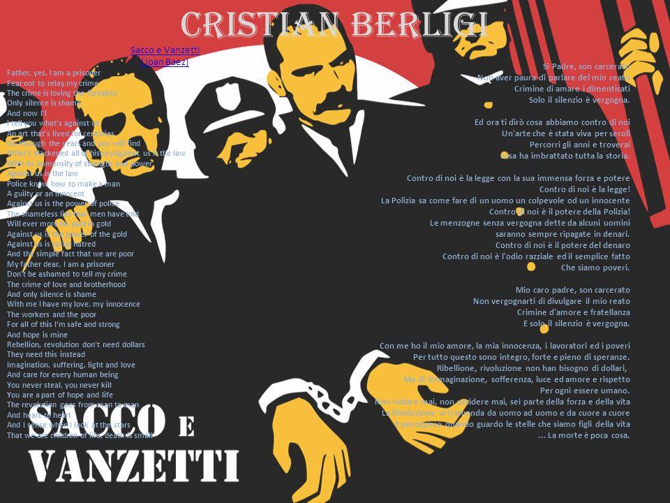 Cristian berligi Sacco e Vanzetti (Joan Baez)