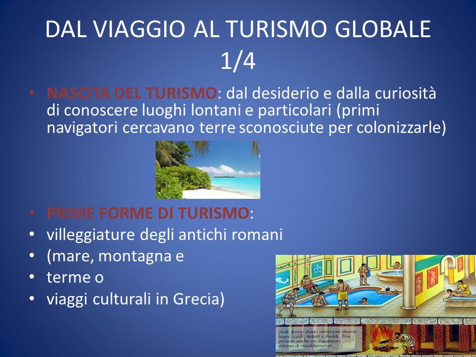 DAL VIAGGIO AL TURISMO GLOBALE 1/4