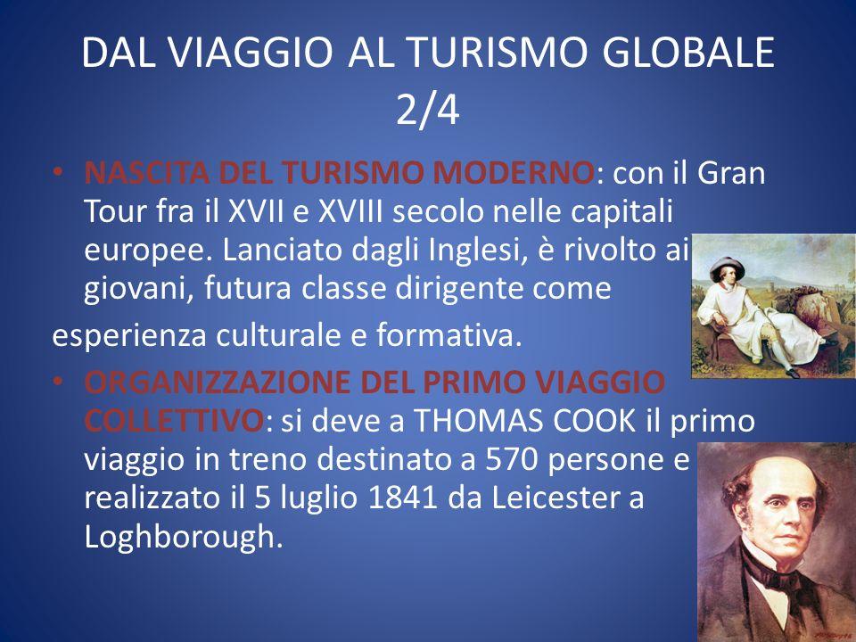 DAL VIAGGIO AL TURISMO GLOBALE 2/4