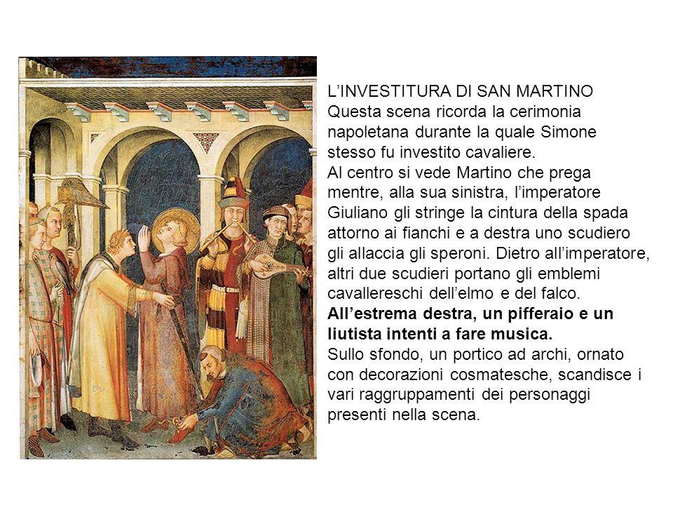 L'INVESTITURA DI SAN MARTINO