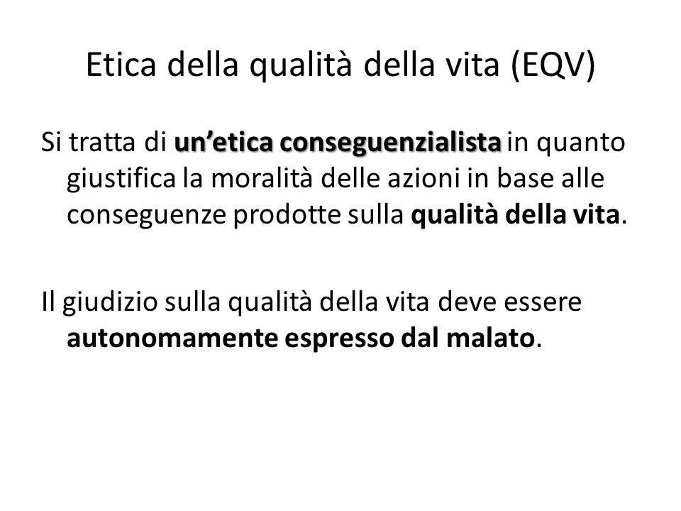 Etica della qualità della vita (EQV)