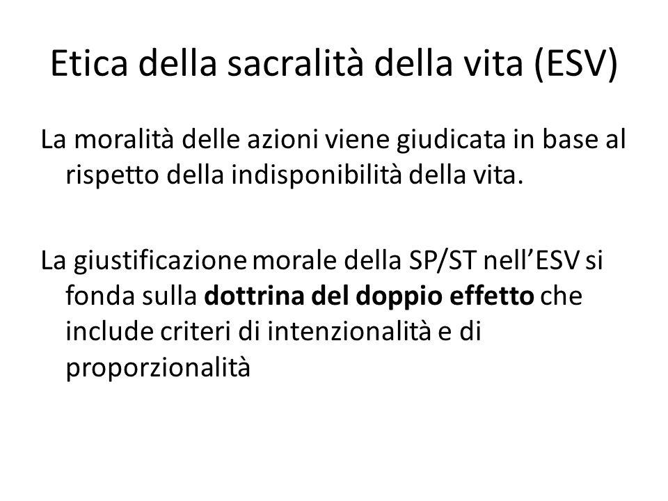 Etica della sacralità della vita (ESV)