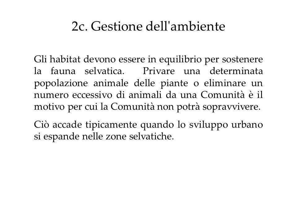 2c. Gestione dell ambiente