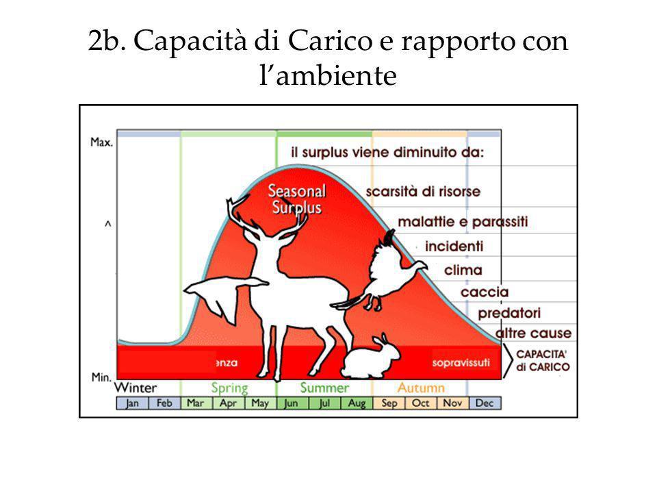 2b. Capacità di Carico e rapporto con l'ambiente