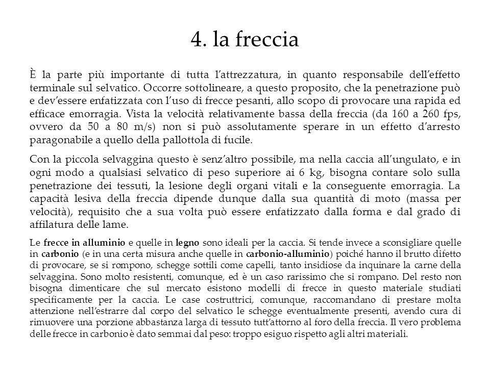 4. la freccia