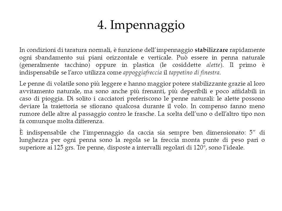 4. Impennaggio