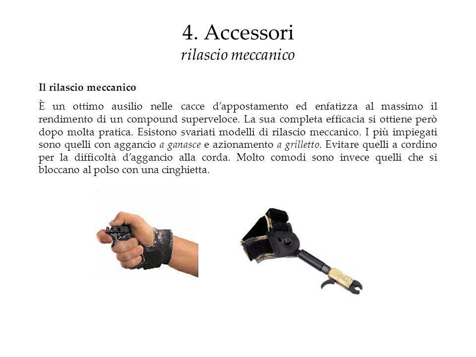 4. Accessori rilascio meccanico