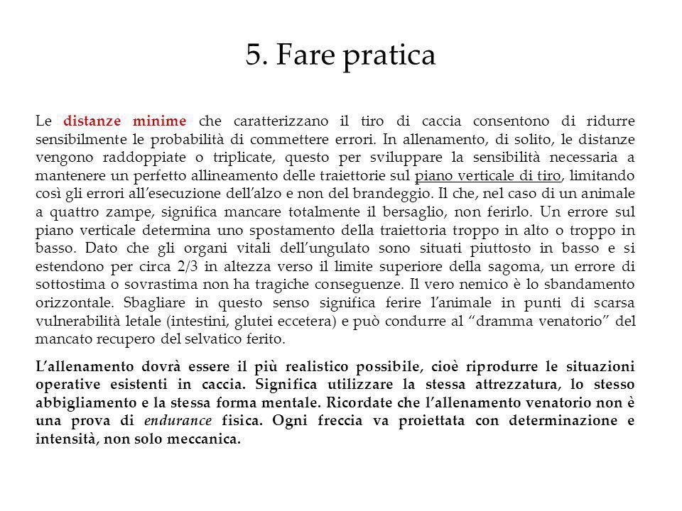 5. Fare pratica