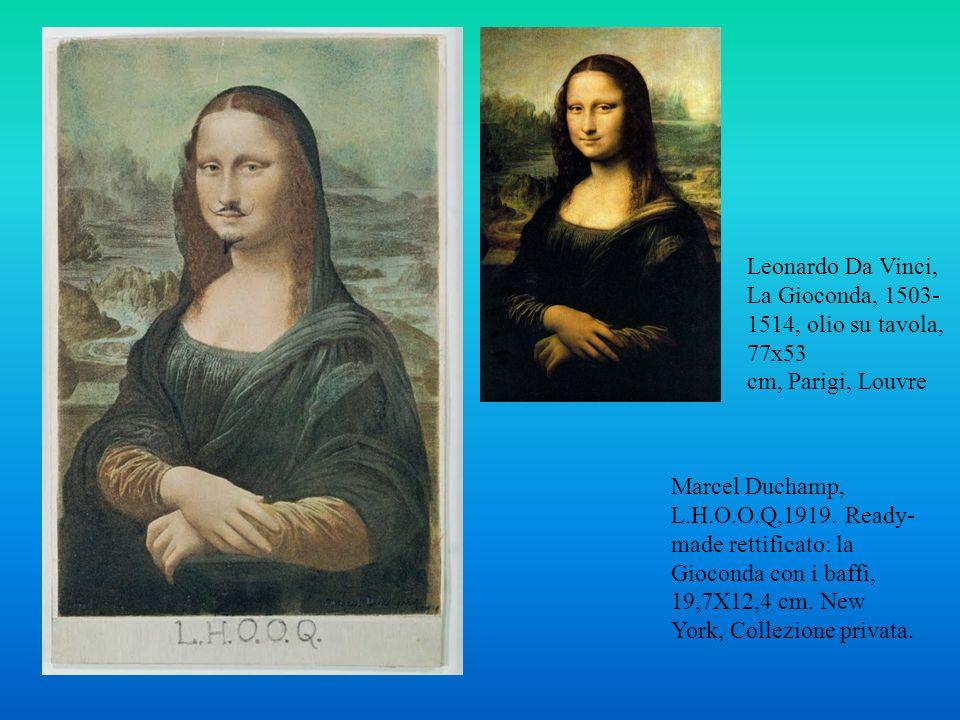 Leonardo Da Vinci, La Gioconda, 1503-1514, olio su tavola, 77x53 cm, Parigi, Louvre