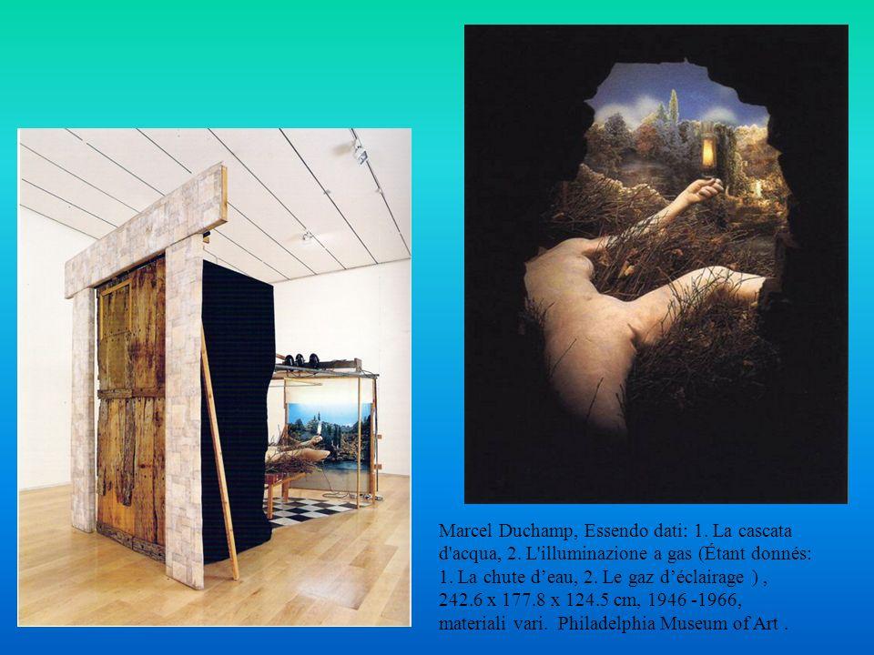 Marcel Duchamp, Essendo dati: 1. La cascata d acqua, 2