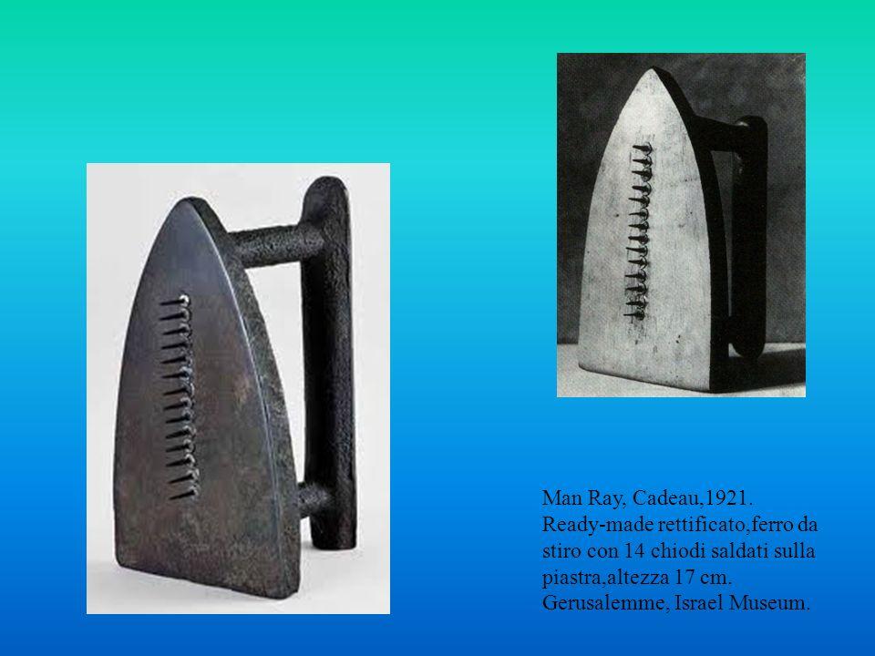 Man Ray, Cadeau,1921.