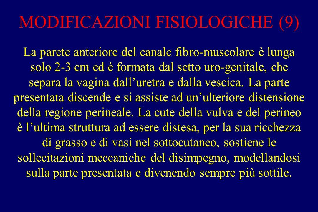 MODIFICAZIONI FISIOLOGICHE (9)