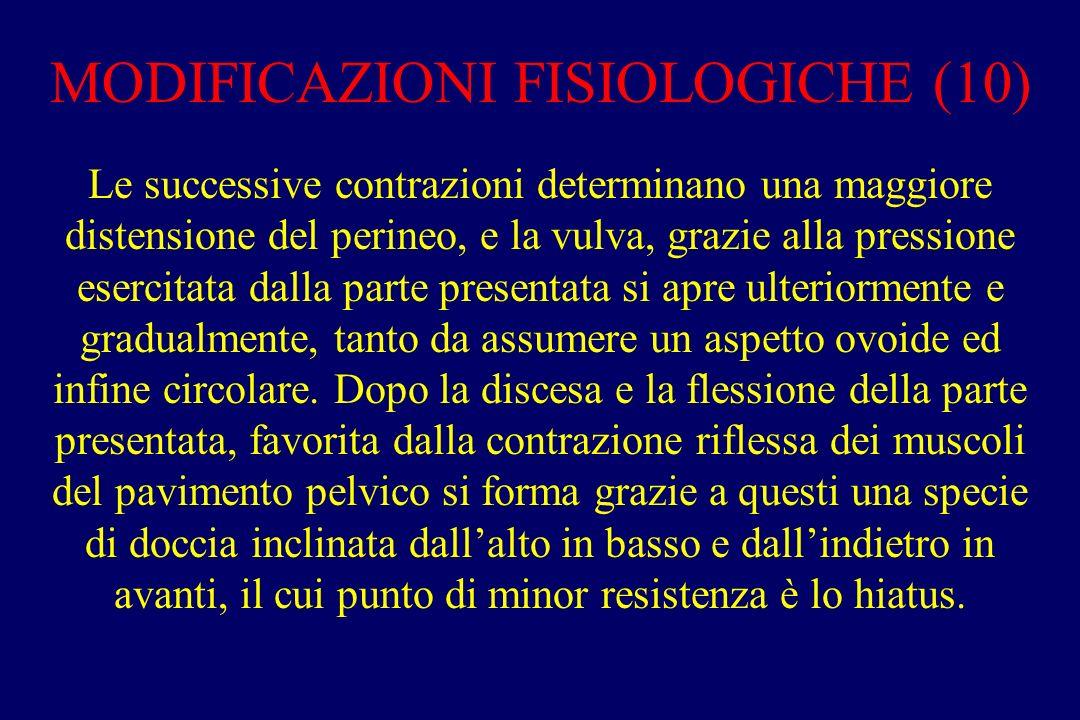 MODIFICAZIONI FISIOLOGICHE (10)