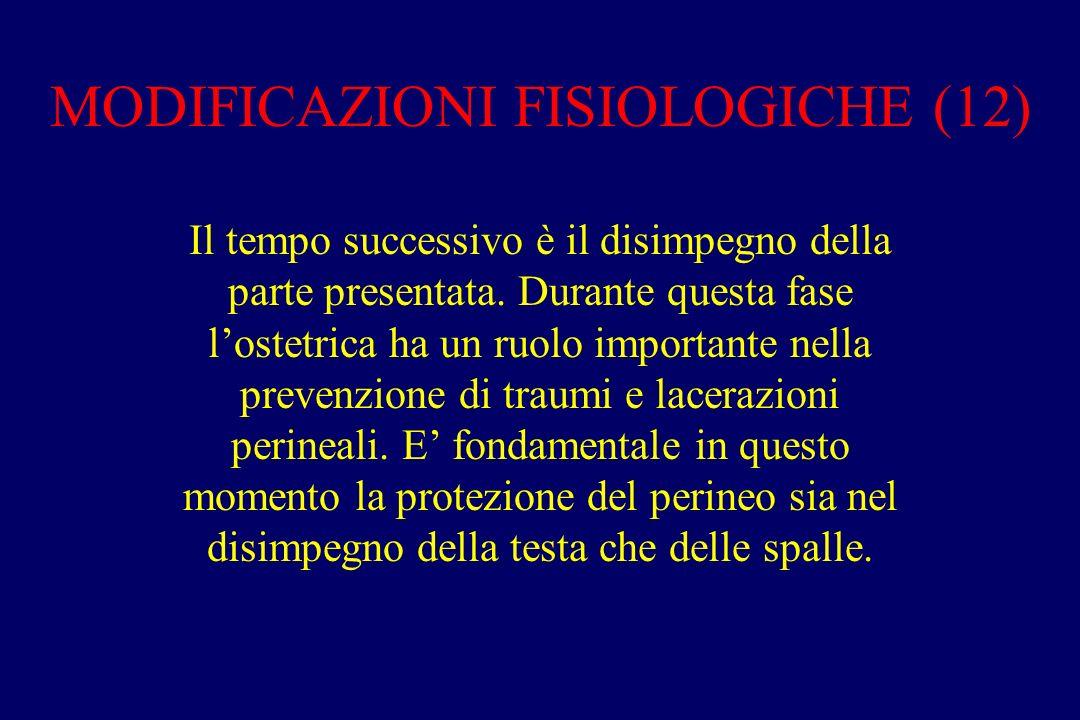 MODIFICAZIONI FISIOLOGICHE (12)