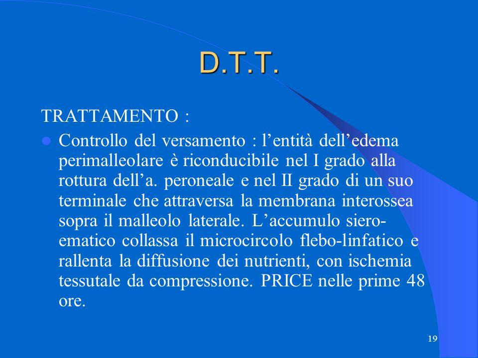 D.T.T. TRATTAMENTO :