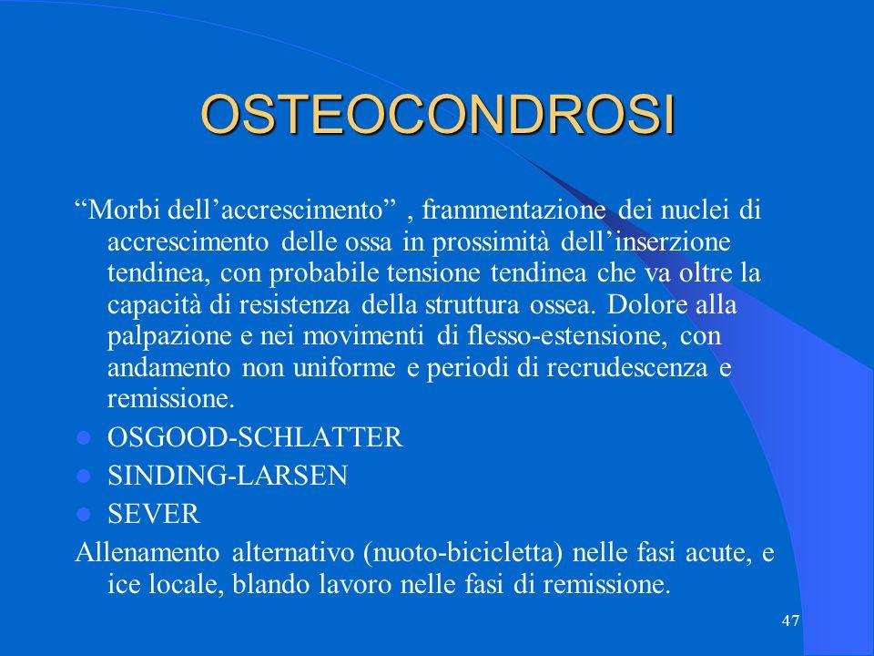 OSTEOCONDROSI