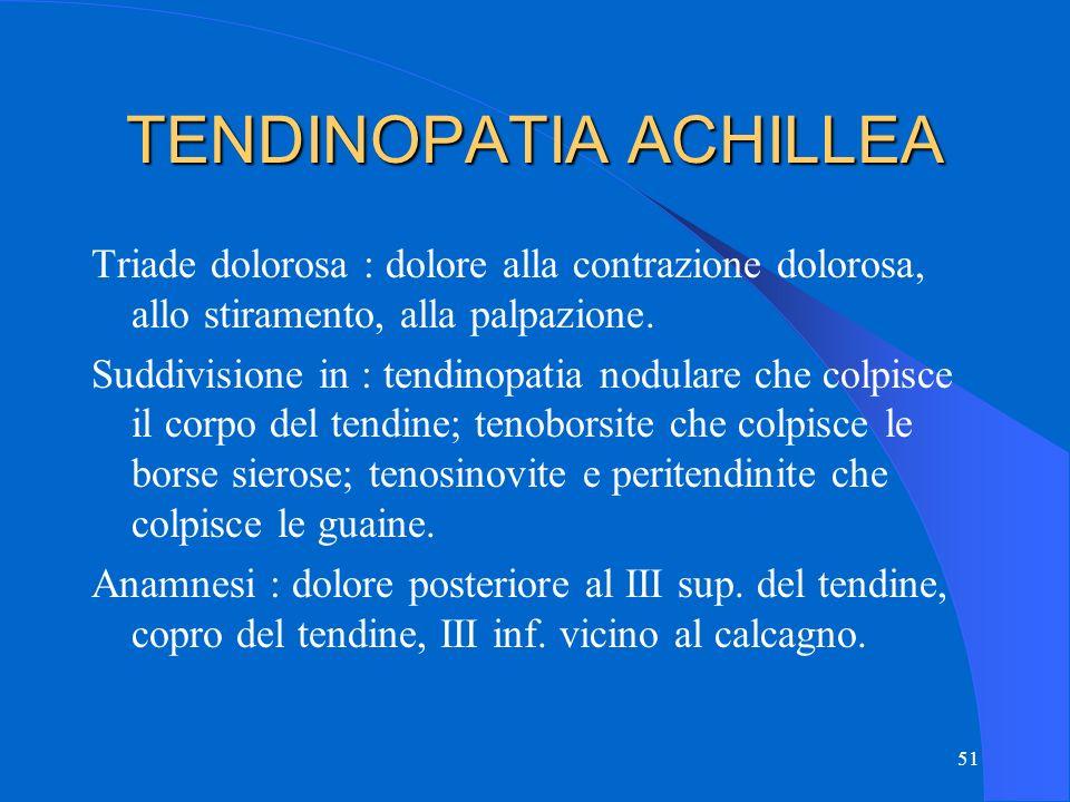 TENDINOPATIA ACHILLEA