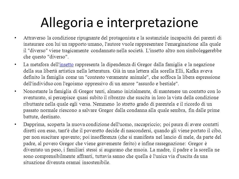 Allegoria e interpretazione