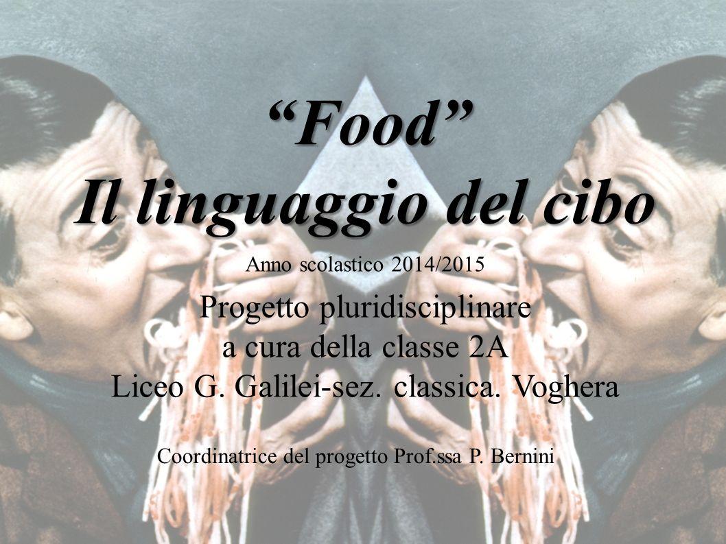 Food Il linguaggio del cibo