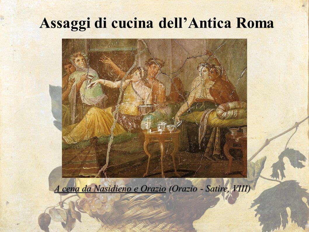 Assaggi di cucina dell'Antica Roma